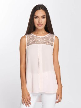 Only Tops sans manche onlVenice Lace rose
