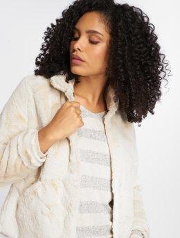 Only Transitional Jackets onlVida Faux Fur beige