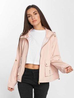 Only Frauen Übergangsjacke onlIsa in rosa