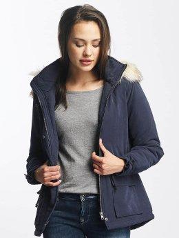 Only winterjas onlStarlight Fur Parka blauw