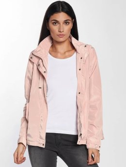 Only Zomerjas onlLina Nylon Parka rose