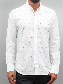 Open Рубашка Stitch белый