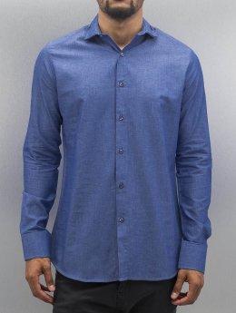 Open Рубашка Classic синий