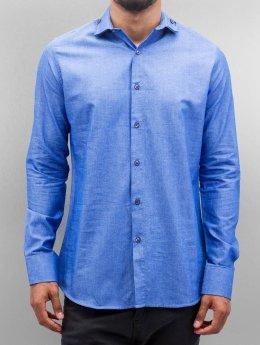 Open Hemd Classic blau