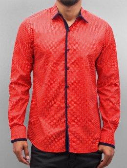 Open Skjorte Dots  rød