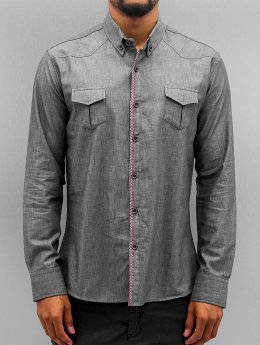 Open Skjorter Breast Pocket indigo
