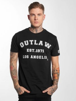 Outlaw Camiseta Outlaw Baseball negro