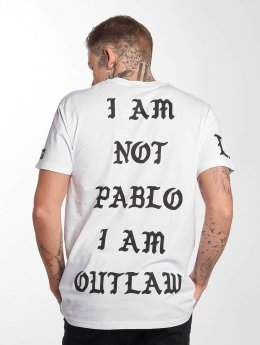 Outlaw T-shirt Pablo bianco