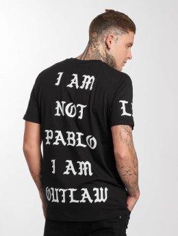 Outlaw t-shirt Pablo zwart
