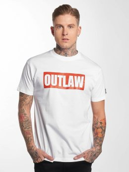 Outlaw T-shirts Outlaw Brand hvid