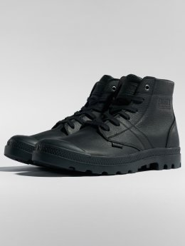 Palladium Boots Pallabrousse Leather zwart