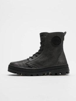 Palladium Chaussures montantes Pallabosse Off Lea noir