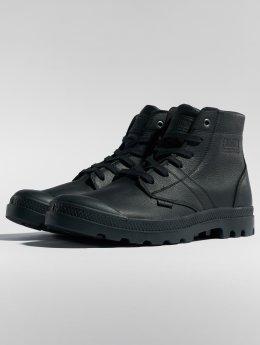 Palladium Vapaa-ajan kengät Pallabrousse Leather musta