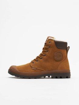 Palladium Vapaa-ajan kengät Pampa Sport Cuff  ruskea
