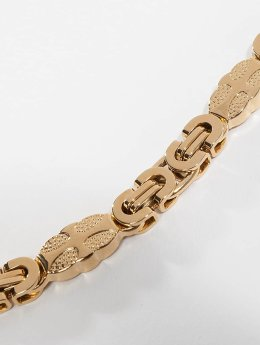 Paris Jewelry Kette Paris Jewelry Stainless Steel Bracelet & Necklace Set goldfarben