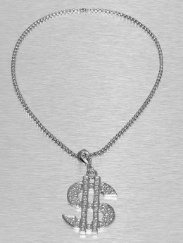 Paris Jewelry ketting Dollar zilver