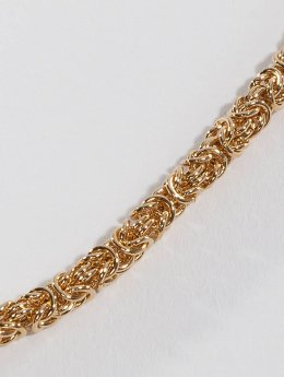Paris Jewelry Necklace Stainless Steel gold colored