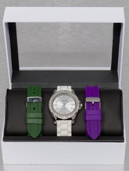 Paris Jewelry Uhr Set  weiß