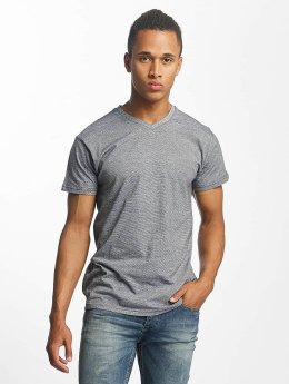 Paris Premium Camiseta Stripe gris