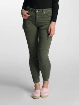 Paris Premium Jean skinny Denim kaki