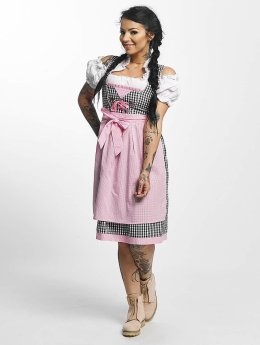 Paris Premium Traditional Dirndl Black