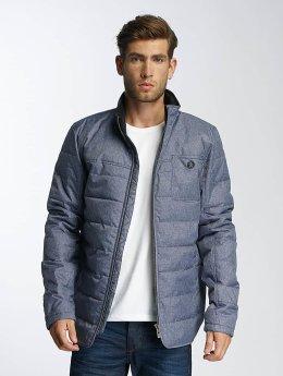 Paris Premium Manteau hiver Fluffy bleu