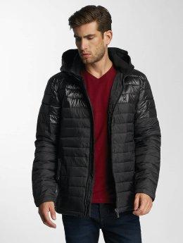Paris Premium Manteau hiver Puffy noir
