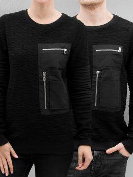 Paris Premium Pullover Pocket schwarz