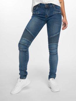 Paris Premium Skinny Jeans Denim modrý