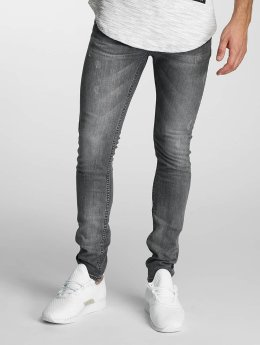 Paris Premium Slim Fit Jeans Almond grå