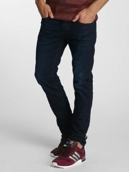 Paris Premium Straight Fit Jeans Lucifer blau