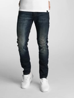 Paris Premium Straight Fit Jeans Azrael modrý