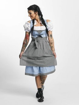 Paris Premium Sukienki Traditional  niebieski