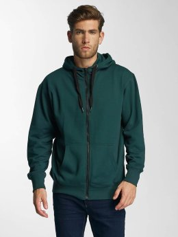Paris Premium Sweat capuche zippé Town House vert