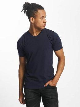 Paris Premium T-Shirt Basic blau