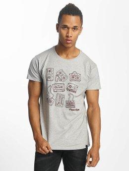 Paris Premium Tapes T-Shirt Grey Melange