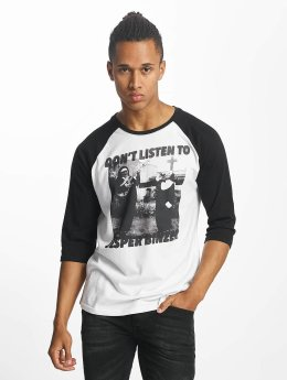 Paris Premium T-Shirt manches longues Don't Listen blanc