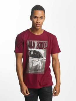 Paris Premium t-shirt Old School rood
