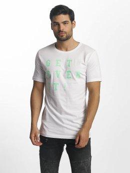 Paris Premium T-Shirt Get Over It weiß