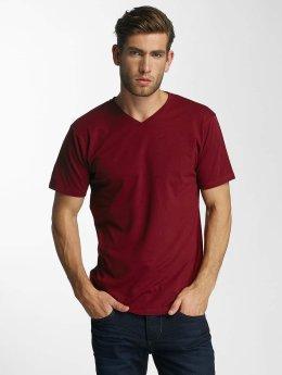 Paris Premium T-shirts Basic rød