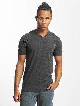 Paris Premium T-skjorter Basic grå