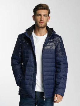Paris Premium Winterjacke Puffy blau