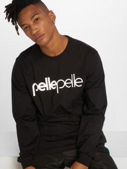 Pelle Pelle Camiseta de manga larga Back 2 The Basics negro