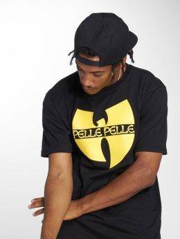 Pelle Pelle Camiseta x Wu-Tang Batlogo Mix negro