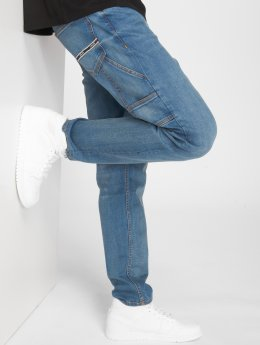 Pelle Pelle Jean large Carpenter bleu
