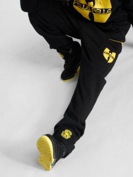 Pelle Pelle Jogginghose x Wu-Tang Batlogo Mix schwarz