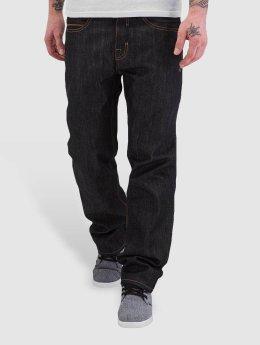 Pelle Pelle Loose fit jeans Baxten Demin zwart