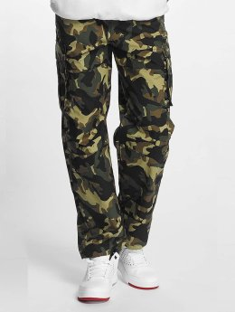 Pelle Pelle Pantalon cargo Basic camouflage