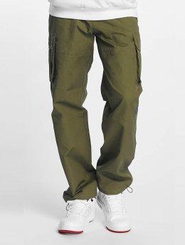 Pelle Pelle Pantalon cargo Basic olive