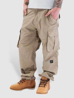 Pelle Pelle Pantalone Cargo Basic cachi
